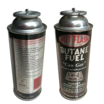 Portable butane gas canister for outdoor and butane canister butane gas can spray