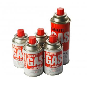 Disposable Straight Wall Aerosol Tinplate Can camping gas butane canister refill for Butane Gas / Stove