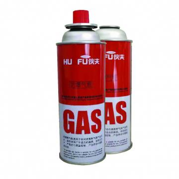 Cleaning Portable Outdoor The empty mint tin butane gas canister and mini aerosol butane gas can