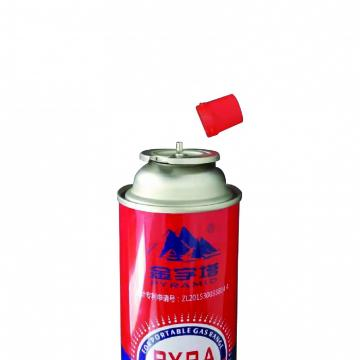 Customers Requirement Butane gas canister in gas cylinder