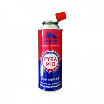 Fuel Energy Empty Tinplate Safety Powerful Butane Gas Canister 220G for portable stove